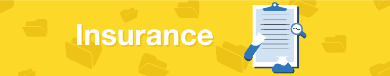 banner for student insurance section