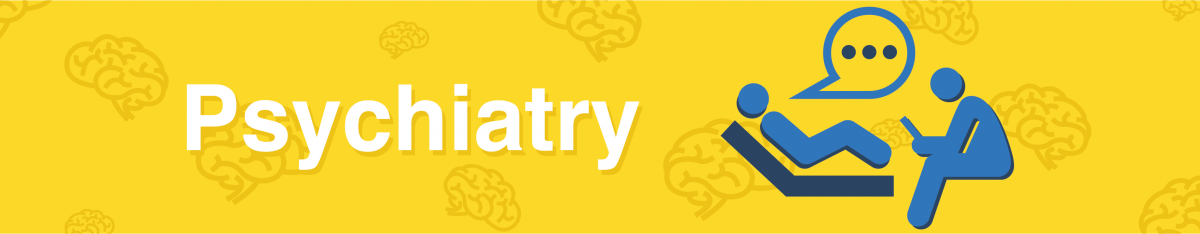 Psychiatry page banner image