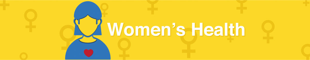 Women's Health page banner image