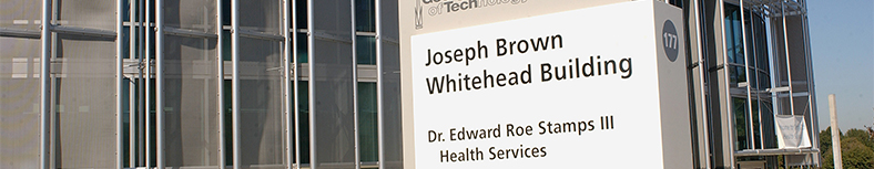 stamps services' location - Joseph Brown Whitehead building