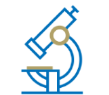 icon of a microscope